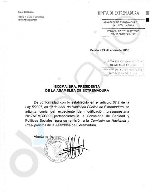 Vara inyecta medio millón de euros en Gisvesa para pagar los sueldos de los enchufados del PSOE