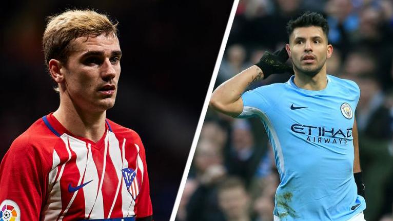 El diario 'The Sun' asegura que el Manchester City vería con buenos ojos un trueque Agüero-Griezmann con el Atlético de Madrid.
