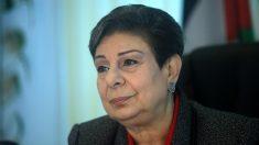 Hanan Ashraui, dirigente de la Autoridad Nacional Palestina. (Getty)