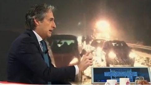 El ministro de Fomento, Íñigo de la Serna, en su entrevista con Espejo Público sobre el colapso en la AP-6.