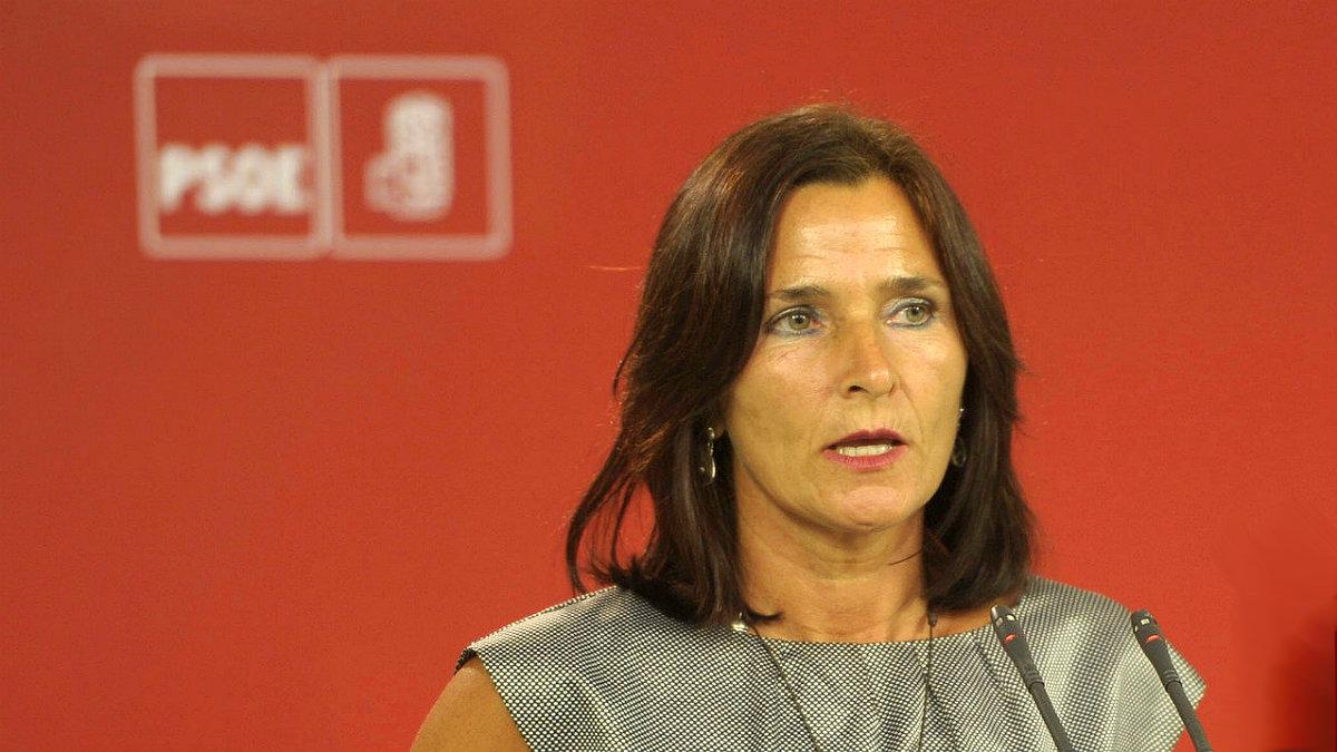 Luz Martínez Seijo, portavoz del PSOE en materia de Educación.