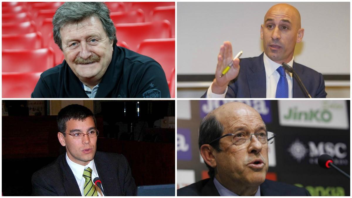 Los cuatro nombres que más han sonado con fuerza para suceder a Ángel María Villar.