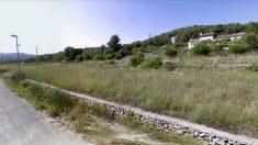 Zonas boscosas en las urbanizaciones que rodean Begues (Barcelona), donde se halló el cadáver.
