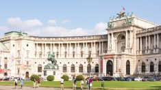 Palacio Imperial de Hofburg, Viena.