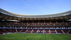 El estadio Wanda Metropolitano. (Getty)