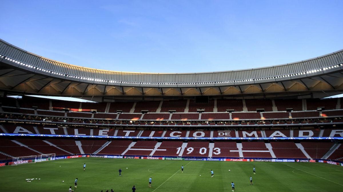 El estadio Wanda Metropolitano. (Getty)