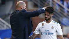 Zidane e Isco, en un partido de Liga. (Getty)
