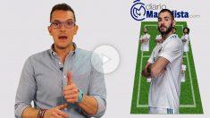 Esta es la alineación del Real Madrid en Mestalla. (vídeo: Juanma Yela)