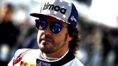 Fernando Alonso durante la clasificación. (UnitedAutosport)