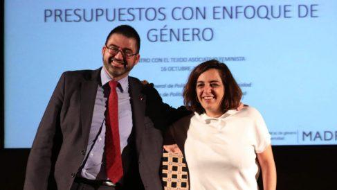 Carlos Sánchez Mato y Celia Mayer. (Foto. Madrid)