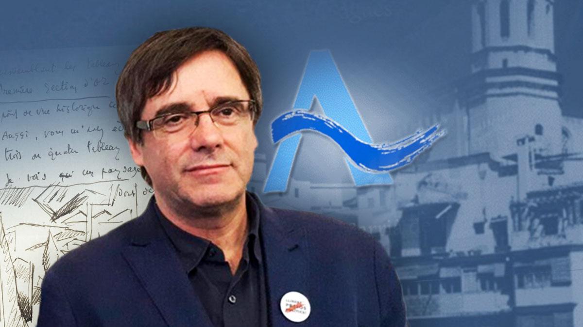 El ex presidente de la Generalitat y ex alcalde de Gerona Carles Puigdemont.