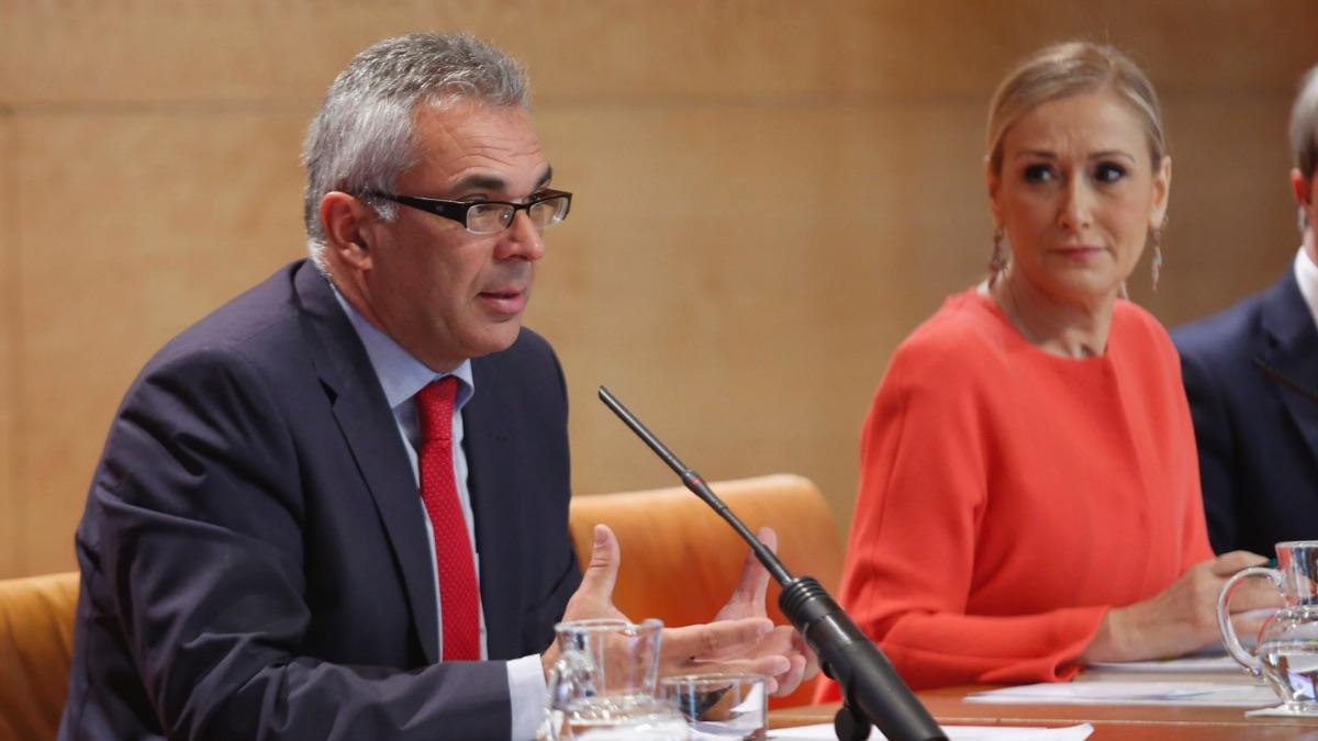 Carlos Izquierdo y Cristina Cifuentes.