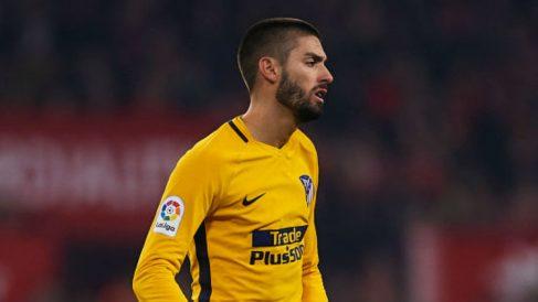 Yannick Carrasco, en el partido ante el Sevilla (Getty).