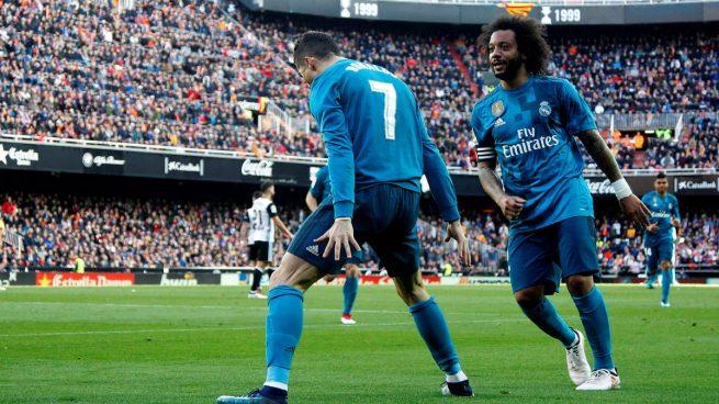 Las notas del Real Madrid: Modric manda, Marcelo resucita y Cristiano no falla
