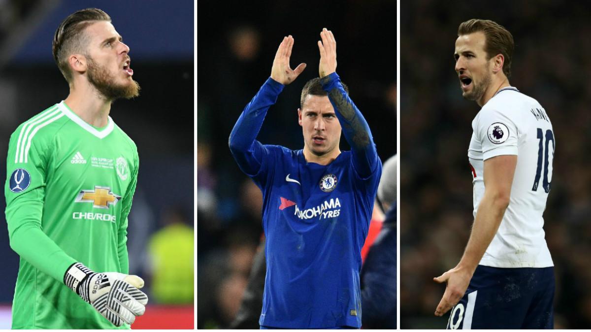 Los tres jugadores que se pueden convertir en los próximos galácticos del Real Madrid. (Getty / AFP)