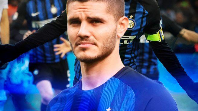 Icardi pasará a cobrar siete millones al año en el Inter.