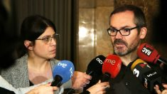 Gemma Geis y Josep Costa, diputados de JxCat en el Parlament. (Foto: JxCat)