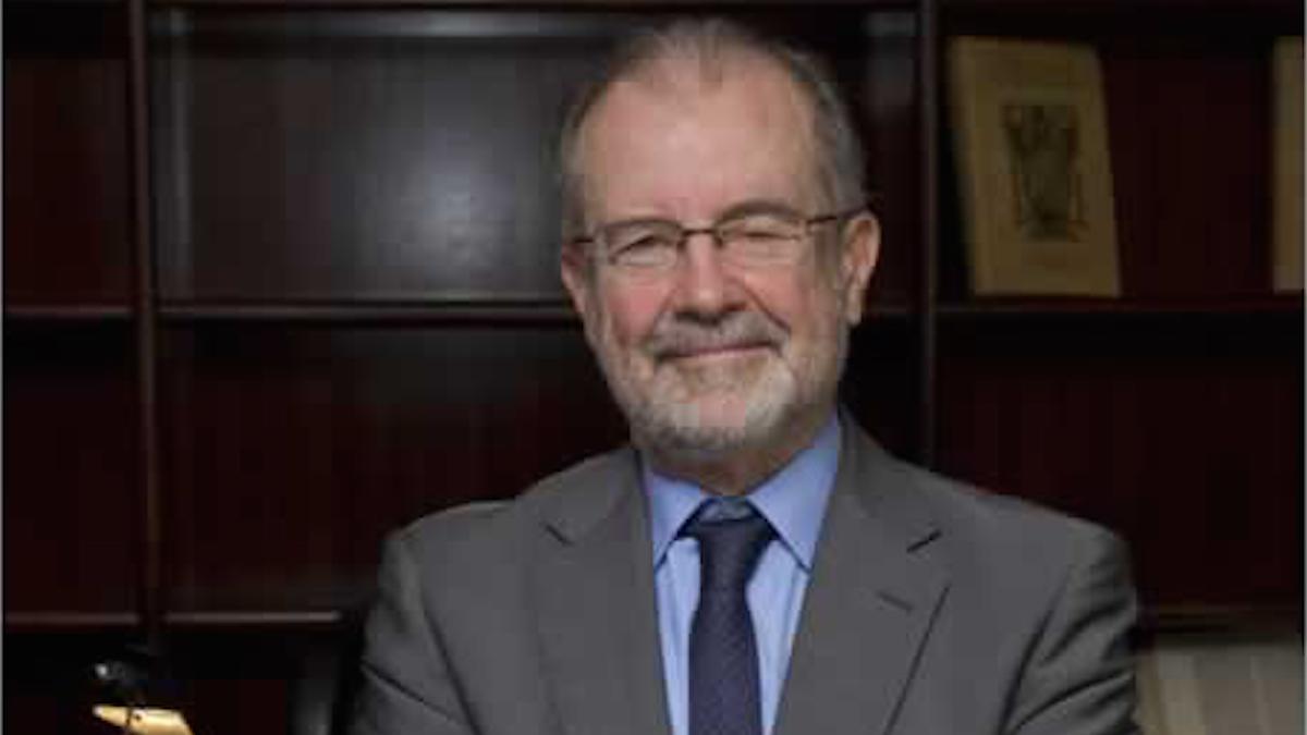 Juan Antonio Xiol, magistrado del Tribunal Constitucional.