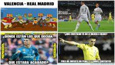 Los 'memes' del Valencia vs Real Madrid.