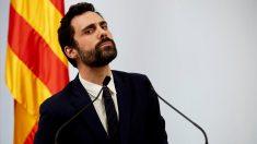 Roger Torrent, presidente del Parlament de Catluña. (Foto: EFE)