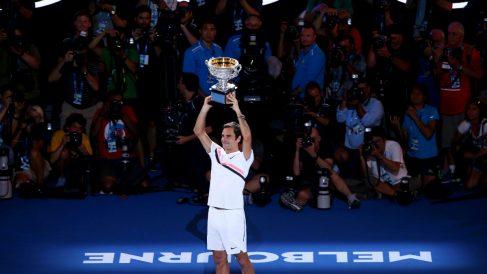 Roger Federer es el jugador con más Grand Slams de la historia. (Getty)