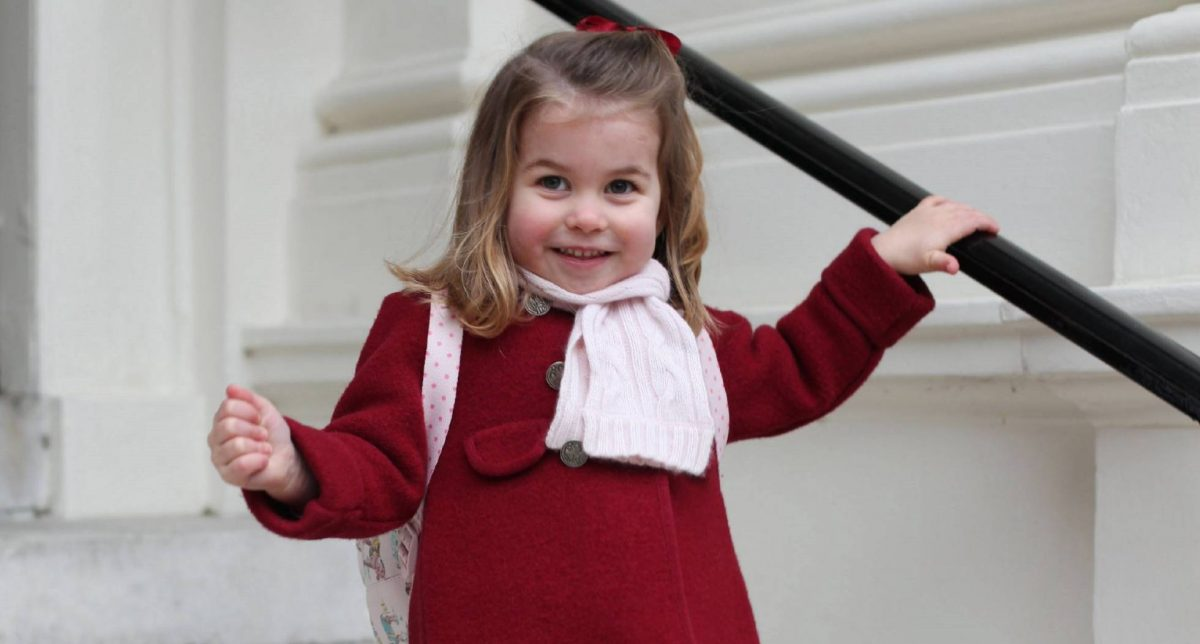 Princesa Carlota de Inglaterra con moda Made in Spain (Foto. Getty)