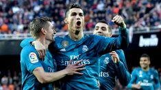 Kroos y Cristiano celebran un gol. (Getty)
