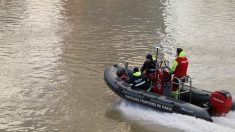 Inundaciones en el Sena (Foto: AFP)