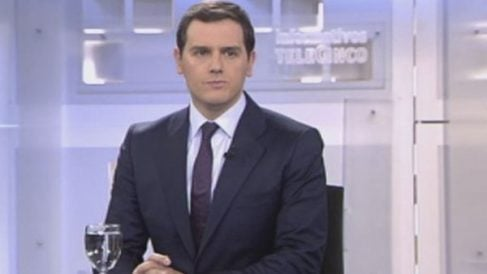 Albert Rivera en Telecinco.
