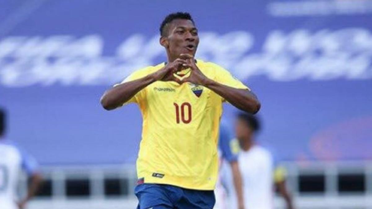 Bryan Cabezas, futbolista ecuatoriano. (Instagram)