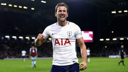 Harry Kane celebra un gol con el Tottenham. (Getty)