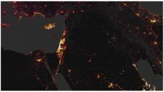 Mapa de calor revelando la presencia de usuarios
