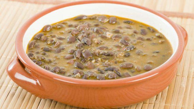 Receta de jud as pintas con arroz receta de la abuela - Judias pintas con manitas ...