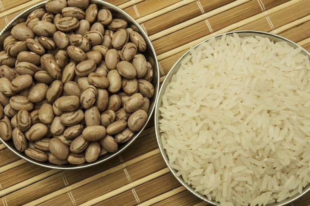 Receta de jud as pintas con arroz receta de la abuela - Arroz con judias pintas ...