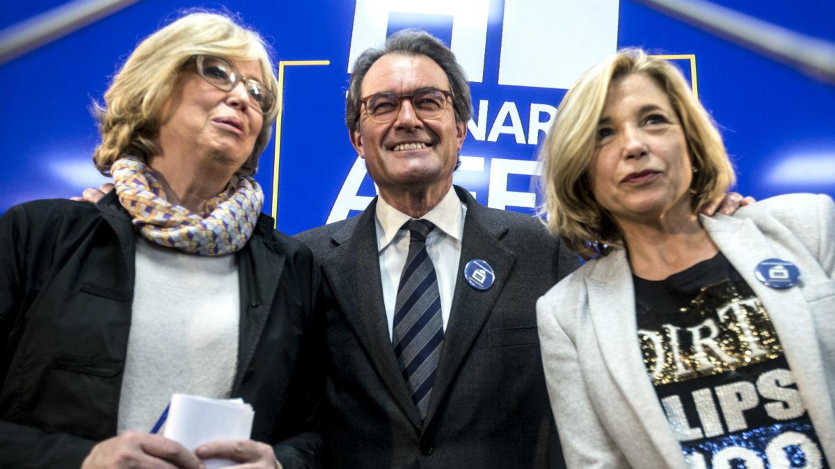 Irene Rigau, Artur Mas y Joana Ortega, condenados a penas de inhabilitación por el referéndum del 9-N.