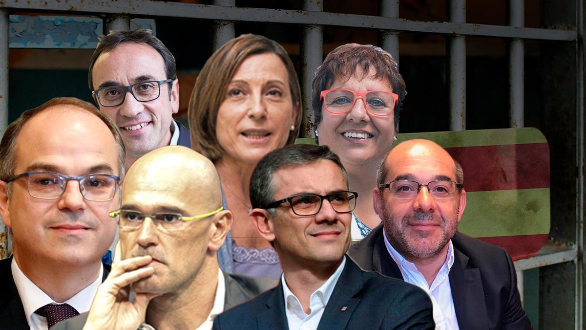 Los diputados catalanes en libertad condicional