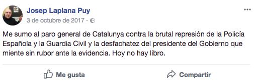 El cura independentista de Montserrat convierte los salmos en alegatos políticos contra el TC