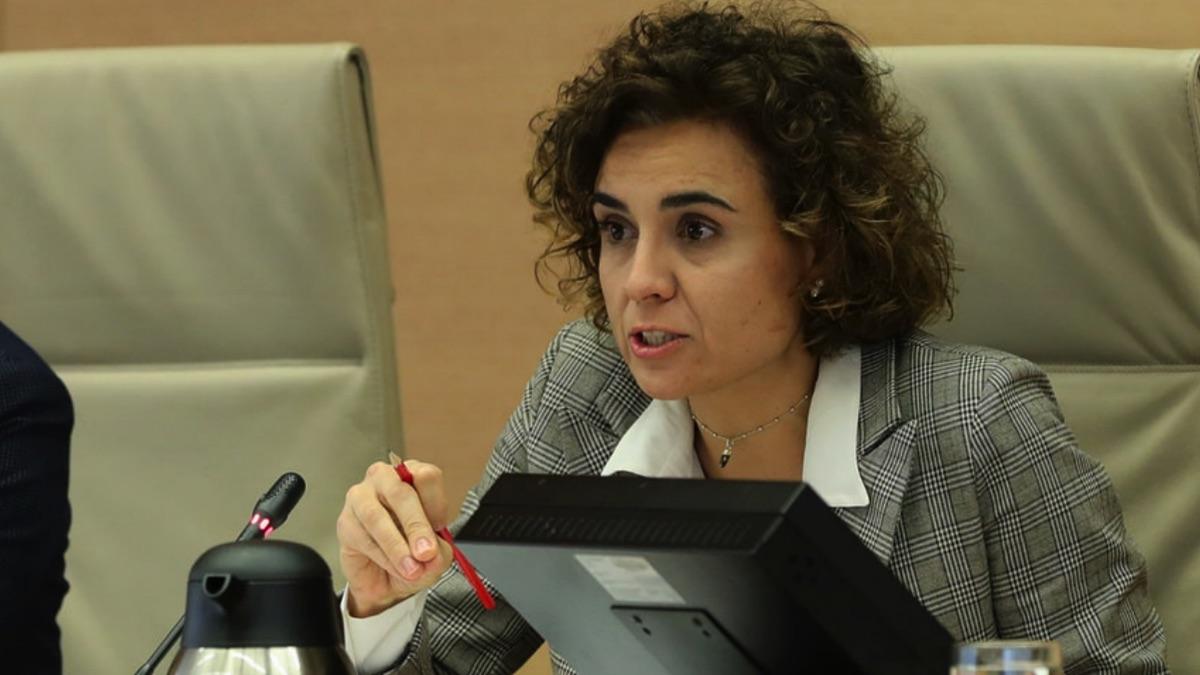 Dolors Montserrat , portavoz del PP en el Congreso.