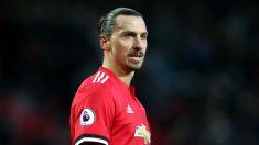 Zlatan Ibrahimovic podría abandonar el Manchester y poner rumbo a la MLS (Getty).