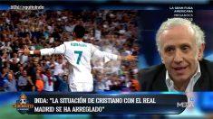 Cristiano Ronaldo ha cambiado su postura respecto a su continuidad en el Real Madrid.