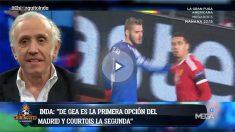 Eduardo Inda desveló que el Madrid fichará sí o sí a un portero top.