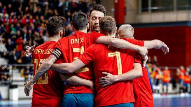La selecci n espa ola busca revalidar el t tulo en el for Federacion espanola de futbol sala
