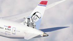 Dos aviones de Norwegian Air llevarán el rostro de Paco de Lucía./ NORWEGIAN AIR