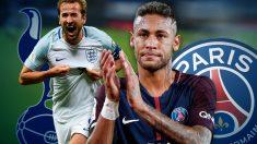 Neymar y Harry Kane ya saben lo que tienen que hacer para vestir la camiseta del Real Madrid.