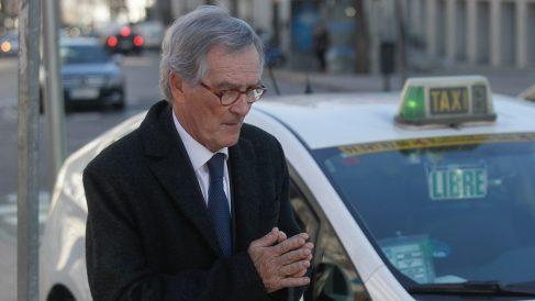 Xavier Trías saliendo del Juzgado de Madrid (Foto: Francisco Toledo)