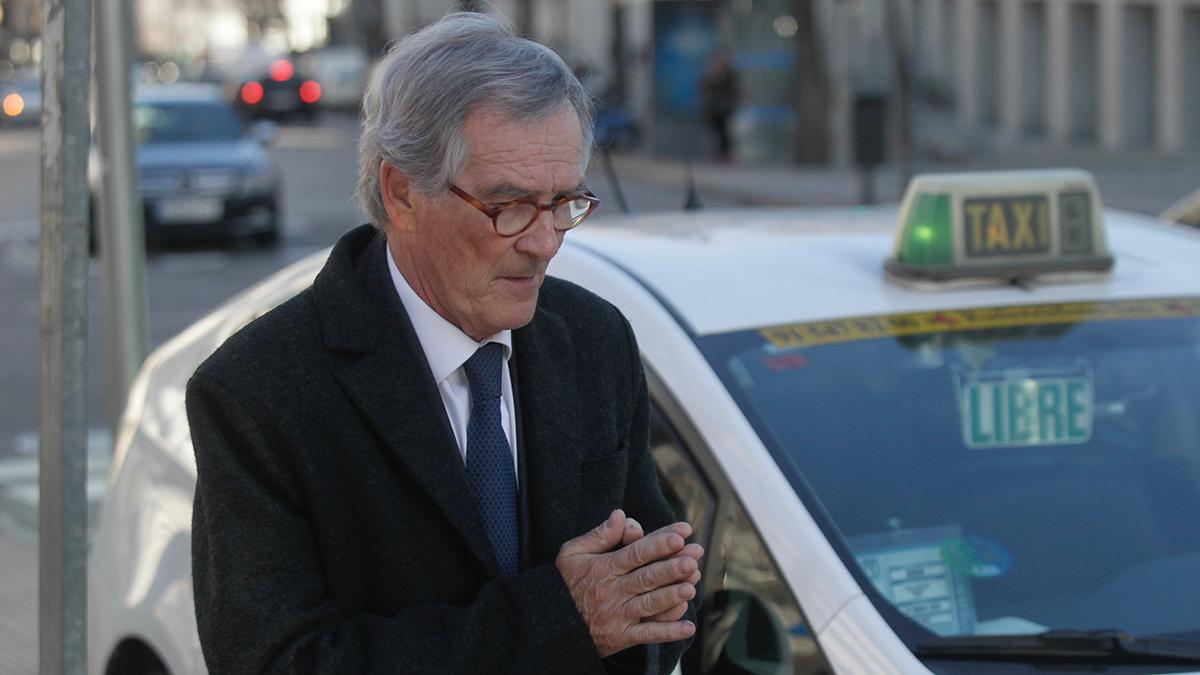Xavier Trias saliendo del Juzgado de Madrid (Foto: Francisco Toledo).