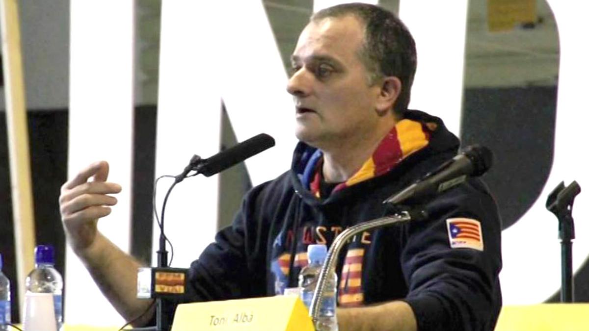 El actor separatista y estrella de TV3 Toni Albà.