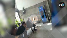 El exalcalde de Barcelona, Xavier Trías y el periodista de ABC, Javier Chicote.