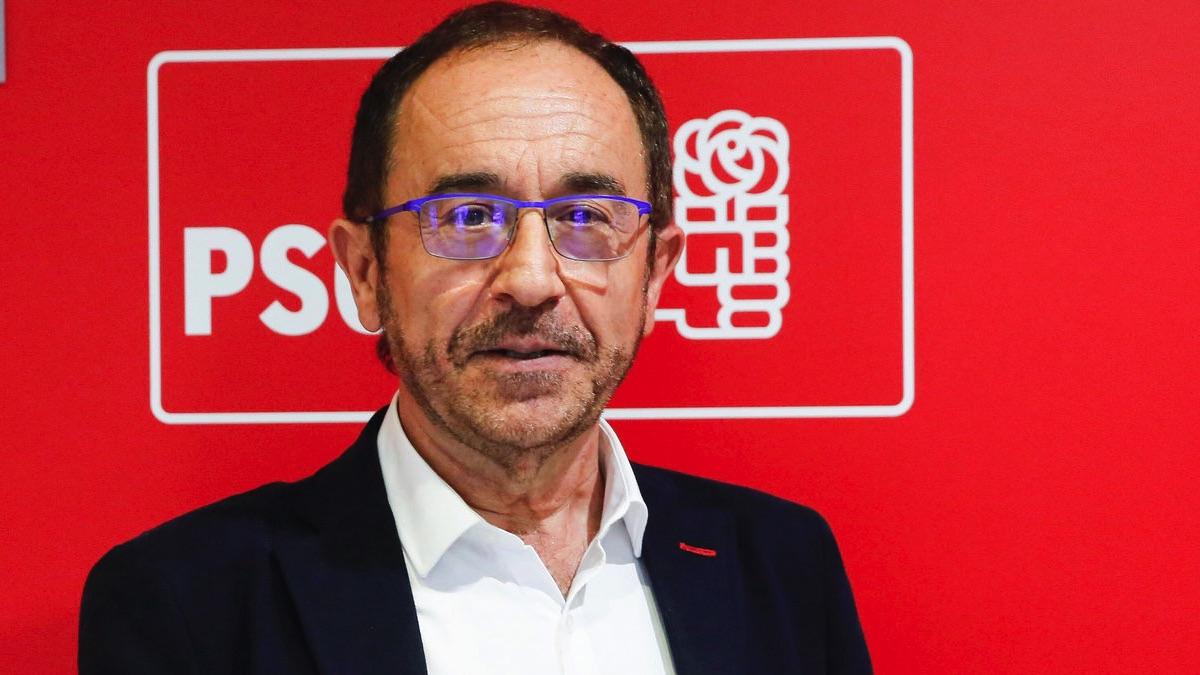 Andrés Perelló, secretario de Justicia del PSOE y embajador en la Unesco.  (Foto: EFE)