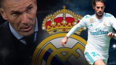 La relación entre Isco y Zidane ha cambiado radicalmente en los últimos meses.